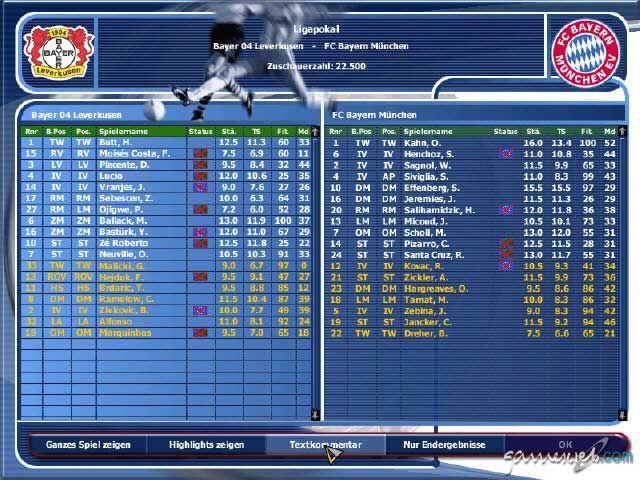 Fussball Manager 2002 - Screenshots - Bild 9