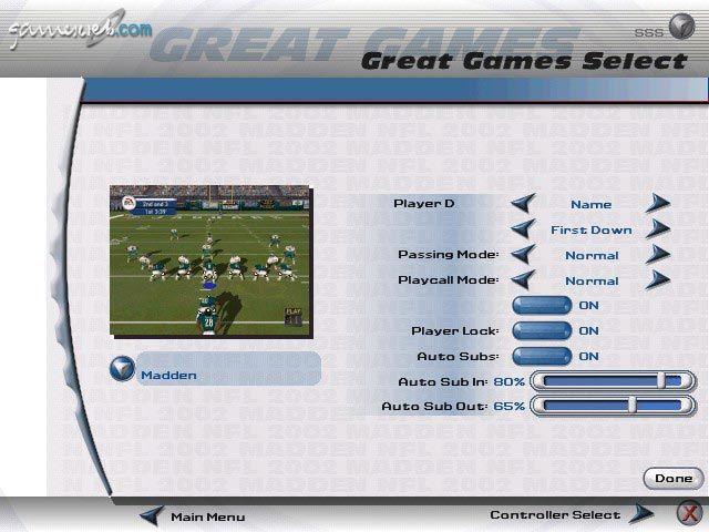 Madden NFL 2002 - Screenshots - Bild 12