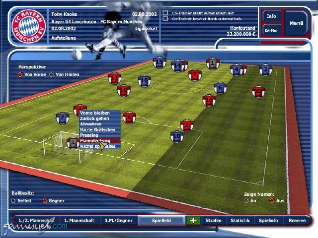 Fussball Manager 2002 - Screenshots - Bild 5