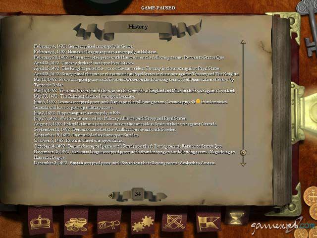 Europa Universalis 2  Archiv - Screenshots - Bild 4