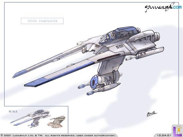 Star Wars Jedi Starfighter  Archiv - Artworks - Bild 10