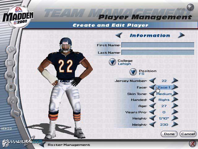 Madden NFL 2002 - Screenshots - Bild 4