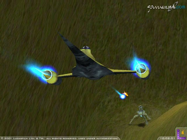 Star Wars: Starfighter  Archiv - Screenshots - Bild 6