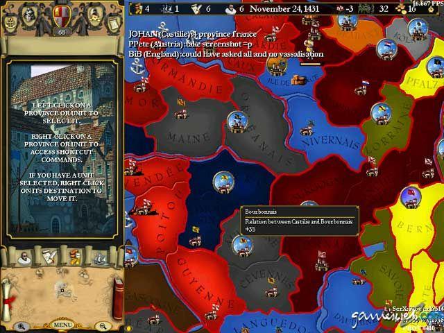Europa Universalis 2  Archiv - Screenshots - Bild 15