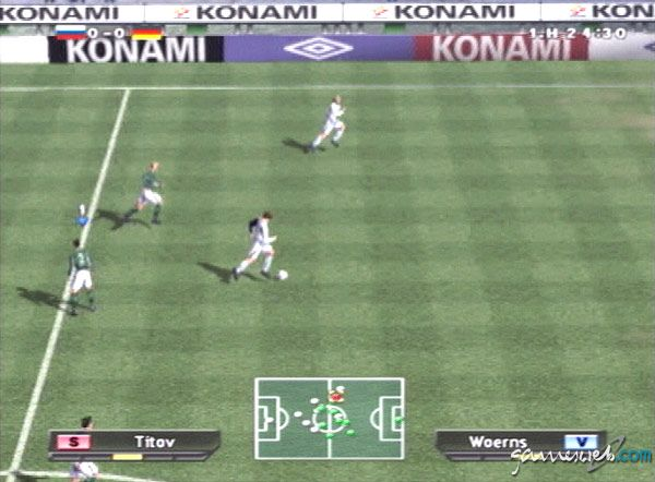 Pro Evolution Soccer - Screenshots - Bild 4
