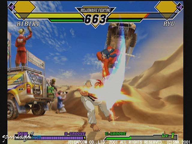 Capcom Vs. SNK 2  Archiv - Screenshots - Bild 5