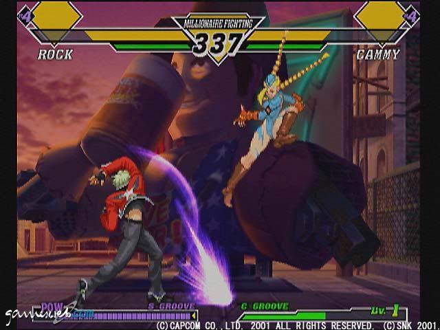 Capcom Vs. SNK 2  Archiv - Screenshots - Bild 11