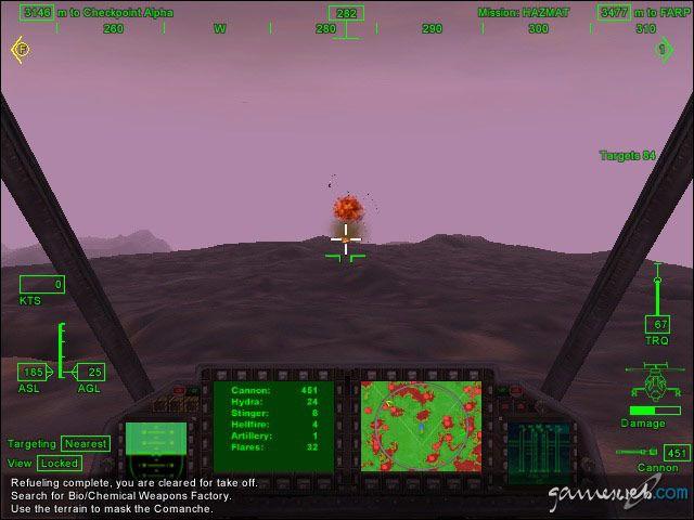 Comanche 4 - Screenshots - Bild 11