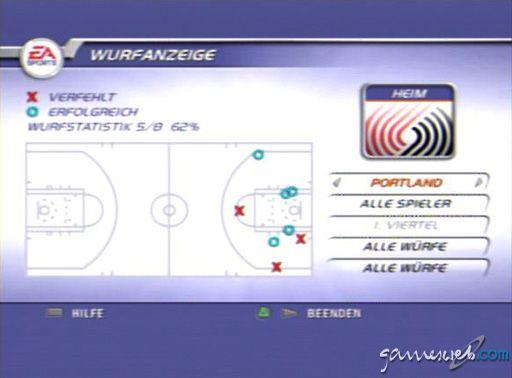 NBA Live 2002 - Screenshots - Bild 8