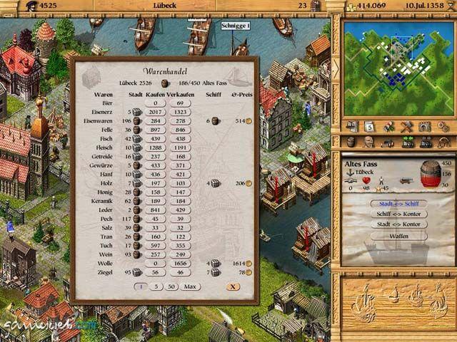 Patrizier II - Screenshots - Bild 9