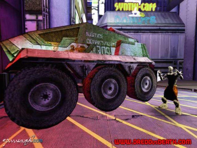 Judge Dredd: Dredd vs. Death  Archiv - Screenshots - Bild 35