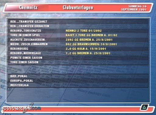DSF Fußball Manager 2002 - Screenshots - Bild 17