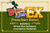 Boulder Dash EX  Archiv - Screenshots - Bild 7