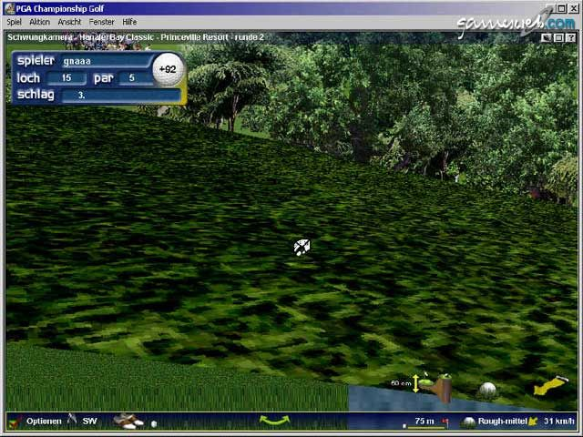 PGA Championship Golf 2001 - Screenshots - Bild 13