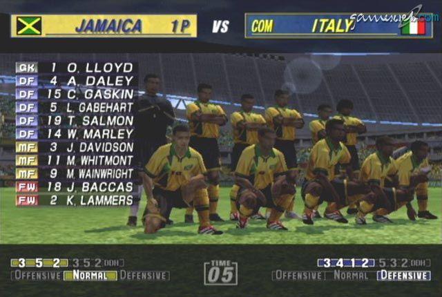 Virtua Striker 3 Ver 2002  Archiv - Screenshots - Bild 9