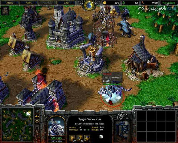 Warcraft 3: - Screenshots von Gameswelt