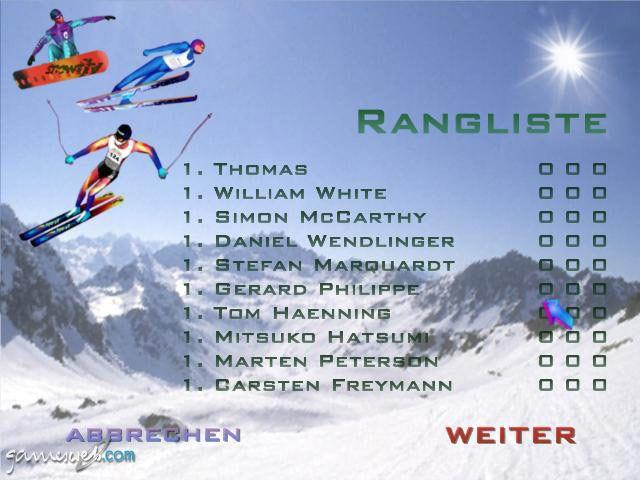 Winterspiele 2002 - Screenshots - Bild 10