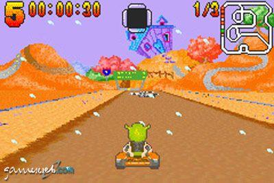 Shrek Swamp Kart Speedway  Archiv - Screenshots - Bild 4