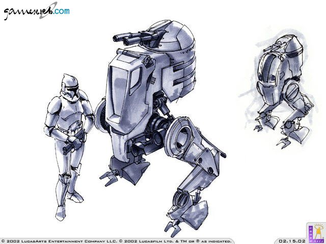 Star Wars Galactic Battlegrounds: Clone Campaigns  Archiv - Artworks - Bild 6
