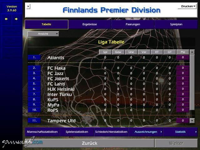 Meistertrainer 01/02 - Screenshots - Bild 9