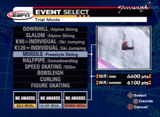 ESPN International Winter Sports - Screenshots - Bild 3