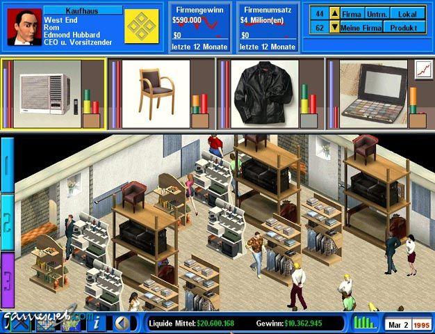 Capitalism II  Archiv - Screenshots - Bild 2