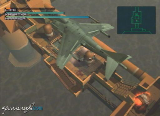 Metal Gear Solid 2 - Screenshots - Bild 7