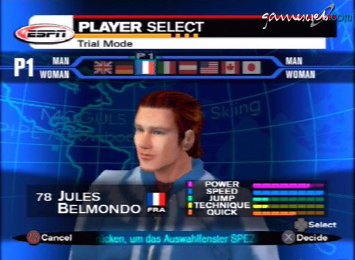 ESPN International Winter Sports - Screenshots - Bild 4