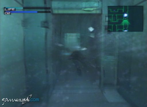 Metal Gear Solid 2 - Screenshots - Bild 18