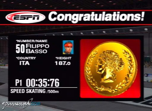 ESPN International Winter Sports - Screenshots - Bild 11
