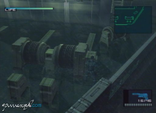 Metal Gear Solid 2 - Screenshots - Bild 2