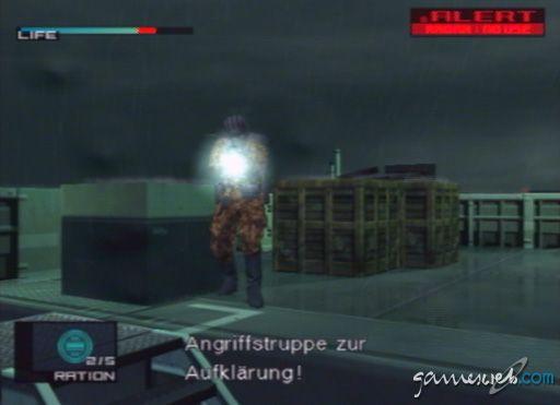 Metal Gear Solid 2 - Screenshots - Bild 3