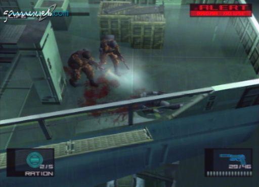 Metal Gear Solid 2 - Screenshots - Bild 14