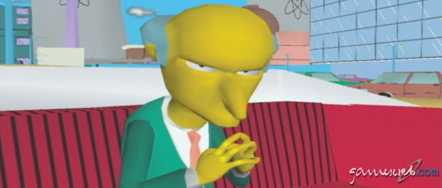 The Simpsons: Road Rage - Screenshots - Bild 16