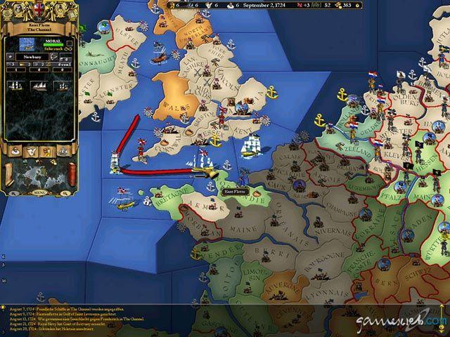 Europa Universalis II - Screenshots - Bild 5