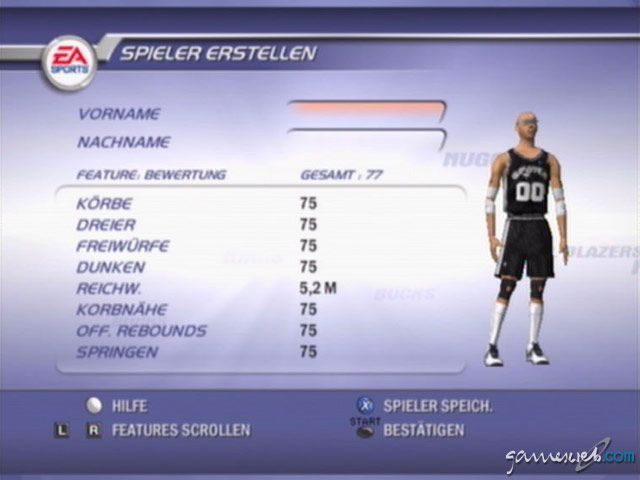 NBA Live 2002 - Screenshots - Bild 20