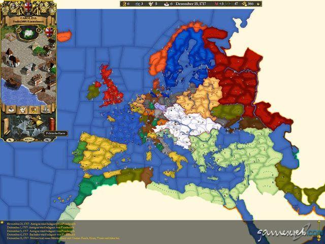 Europa Universalis II - Screenshots - Bild 17