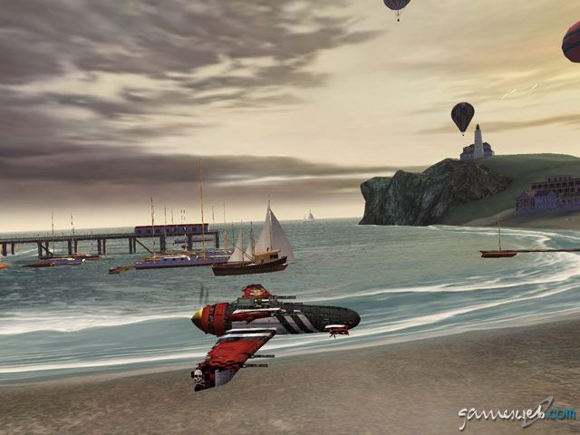 Crimson Skies: High Road to Revenge  Archiv - Screenshots - Bild 31