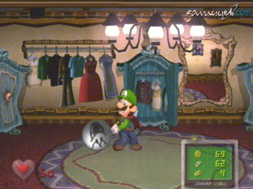 Luigi's Mansion - Screenshots - Bild 19