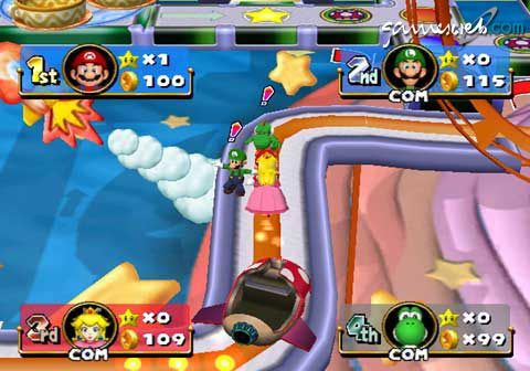 Mario Party 4  Archiv - Screenshots - Bild 2