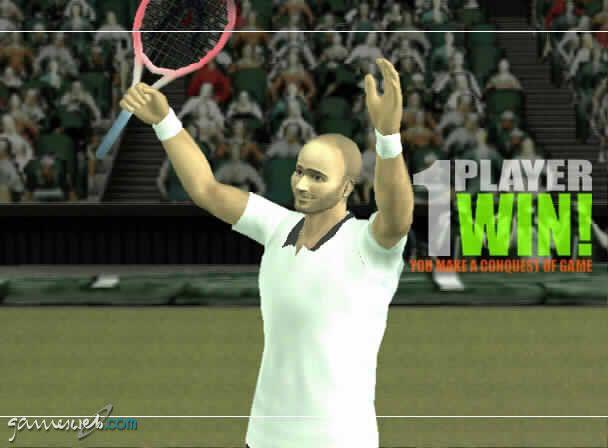 Smash Court Pro Tournament  Archiv - Screenshots - Bild 2