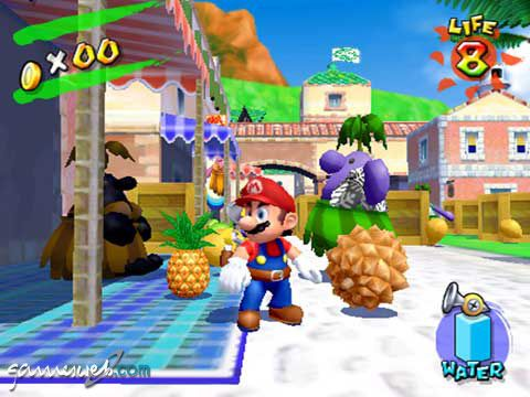 Super Mario Sunshine  Archiv - Screenshots - Bild 2