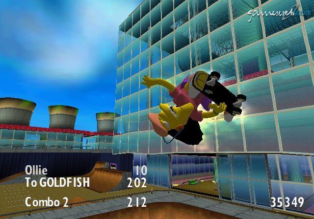 Simpsons Skateboarding  Archiv - Screenshots - Bild 16