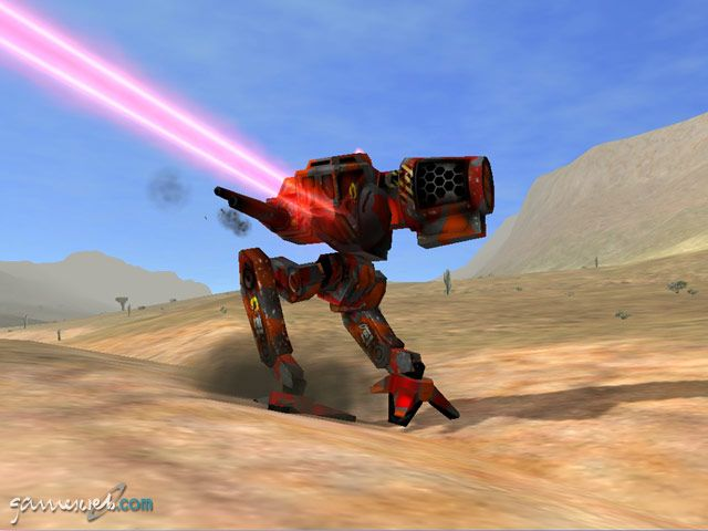 MechWarrior 4: Mercenaries  Archiv - Screenshots - Bild 2