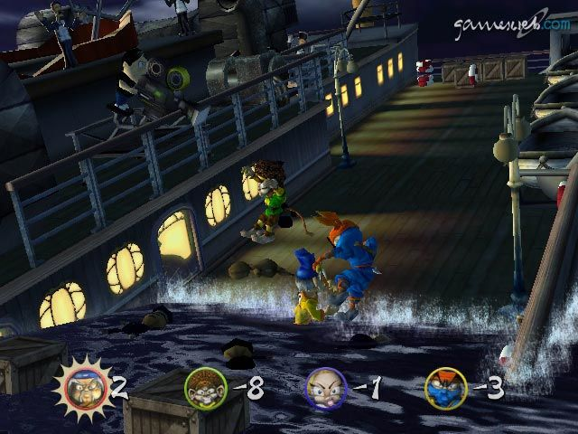 Kung Fu Chaos  Archiv - Screenshots - Bild 2