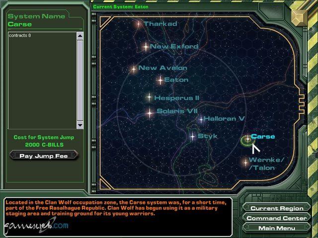MechWarrior 4: Mercenaries  Archiv - Screenshots - Bild 14