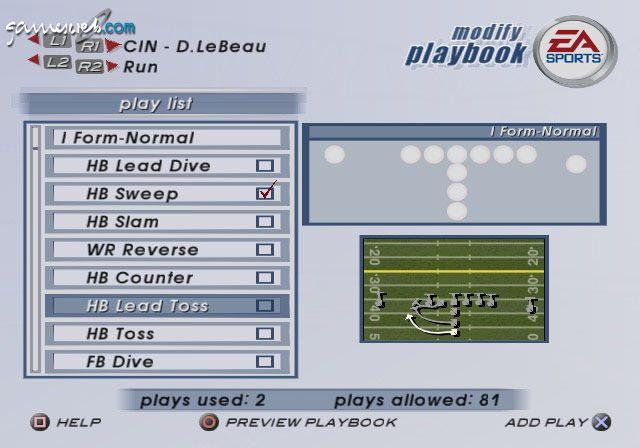 Madden NFL 2003  Archiv - Screenshots - Bild 6