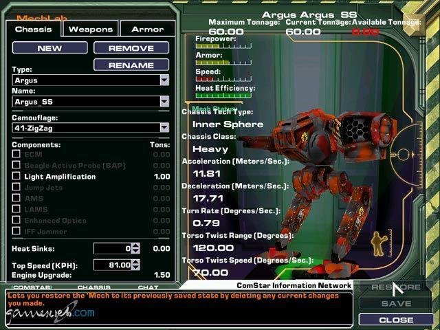 MechWarrior 4: Mercenaries  Archiv - Screenshots - Bild 16