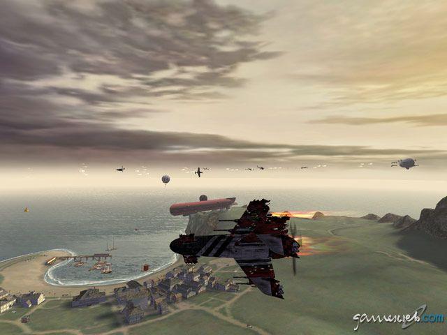 Crimson Skies: High Road to Revenge  Archiv - Screenshots - Bild 17