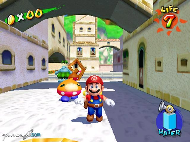 Super Mario Sunshine Screenshots Von Gameswelt
